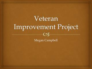 Veteran Improvement Project