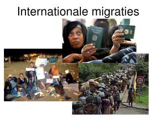 Internationale migraties