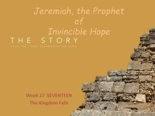 Jeremiah, the Prophet of Invincible Hope