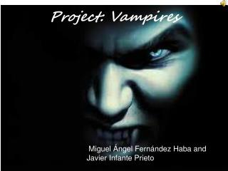 Project: Vampires