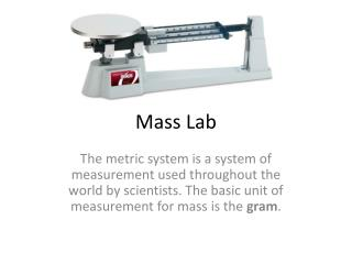 Mass Lab