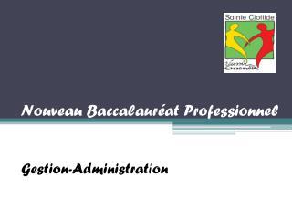 Nouveau Baccalauréat Professionnel