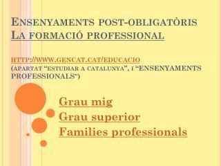 Grau mig Grau superior Families professionals