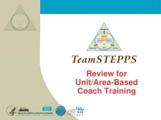 Review for  Unit/Area-Based Coach Training