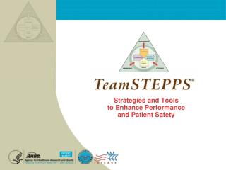Strategies and Tools  to Enhance Performance  and Patient Safety