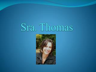 Sra. Thomas