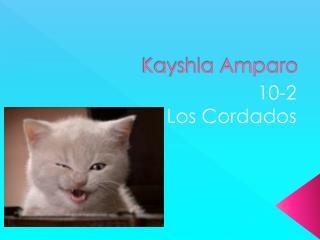 Kayshla Amparo