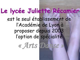 Le lycée Juliette Récamier