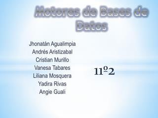Jhonatán Agualimpia   Andrés Aristizabal  Cristian  Murillo  Vanesa Tabares  Liliana Mosquera