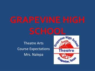 GRAPEVINE HIGH SCHOOL