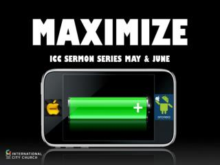Maximize Your Gifts