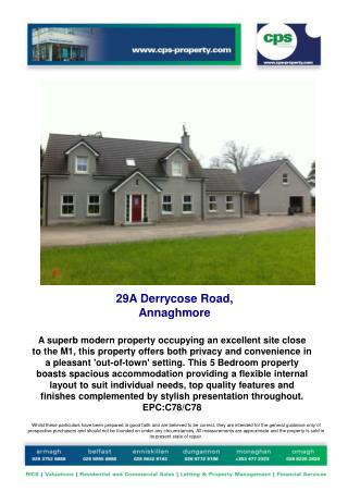 29A  Derrycose  Road,  Annaghmore