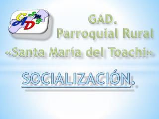 SOCIALIZACIÓN .