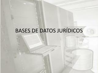 BASES DE DATOS JUR�DICOS