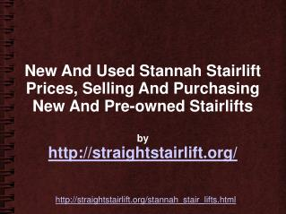 Selling Price Of Stannah 420 Stair Lift