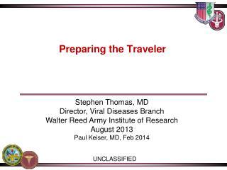 Preparing the Traveler