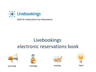 Livebookings  electronic reservations book