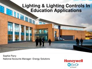 Lighting & Lighting Controls In Education Applications