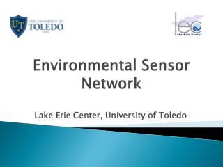 Environmental Sensor Network