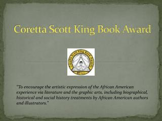 Coretta  Scott King Book Award