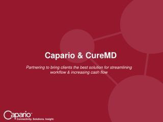 Capario & CureMD