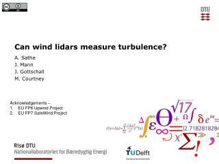 Can wind  lidars  measure turbulence?