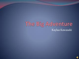 The Big Adventure