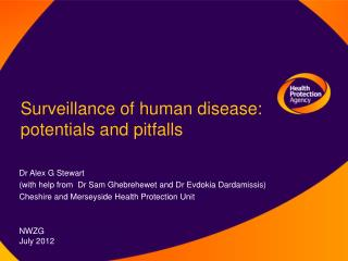 Surveillance of human disease: potentials and pitfalls