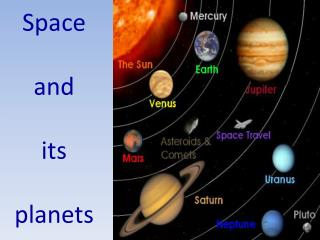 Space  and  its  planets