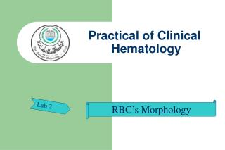 Practical of Clinical  Hematology
