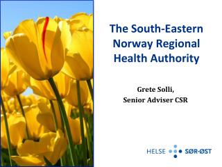 The South-Eastern Norway Regional Health Authority