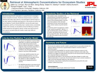 Retrieval of Atmospheric Concentrations for Ecosystem Studies
