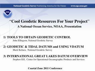 Coastal Zone 2011 Conference