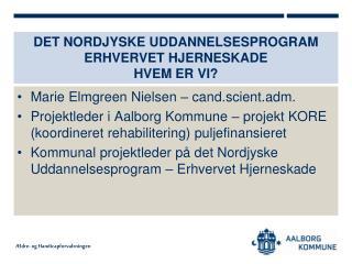 Det Nordjyske Uddannelsesprogram erhvervet hjerneskade Hvem er vi?