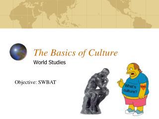 The Basics of Culture