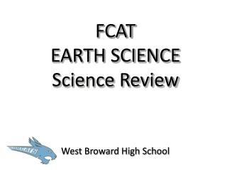 FCAT  EARTH SCIENCE Science Review
