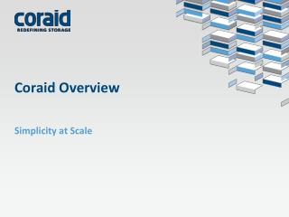 Coraid Overview