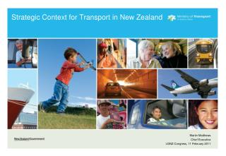 Strategic Context for Transport in New Zealand