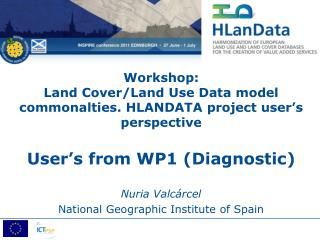 Nuria Valcárcel National Geographic Institute of Spain