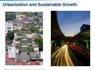 Urbanization and Sustainable Growth