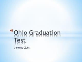 Ohio Graduation Test