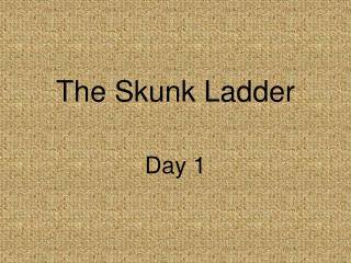 The Skunk Ladder