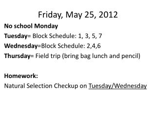 Friday, May 25, 2012