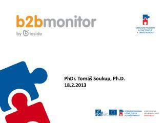 PhDr. Tomáš Soukup, Ph.D. 18.2.2013