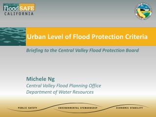 Urban Level of Flood Protection Criteria