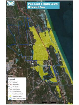 Palm Coast & Flagler County Urbanized Area