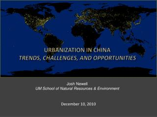 Urbanization in China trends, Challenges, and Opportunities