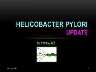 Helicobacter pylori update