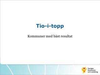 Tio-i-topp
