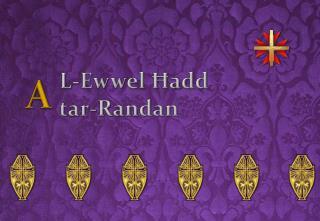 L- Ewwel Ħadd  tar- Randan